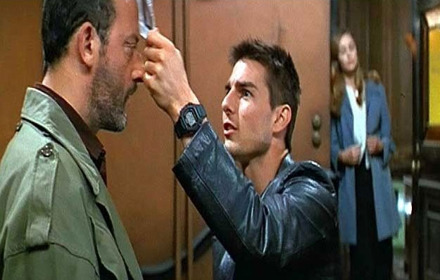 tom cruise mission impossible 1. 1996 - Mission Impossible